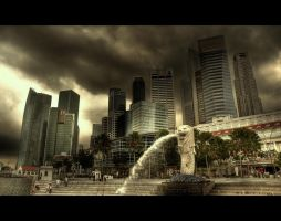 Merlion by B4ldo