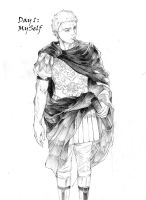 Guy in Ancient Rome. by chengxiangarts