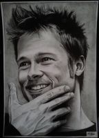 Brad Pitt drawing by alainmi