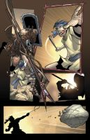 David y Goliath page 12 Color by Sandoval-Art