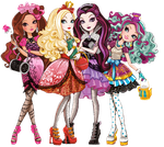 Ever After High Group Cutout by ShaiBrooklyn