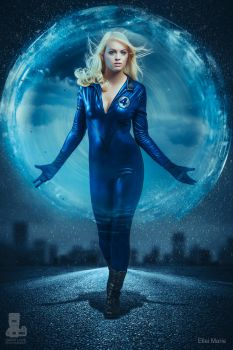 Sue Storm Invisible Woman Cosplay by elleimarie