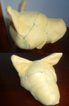 Plush Head prototype Canine by VengefulSpirits