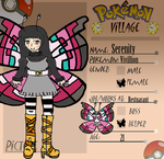 PV: Serenity the Butterfly Girl by PacificIslanderGirl