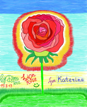 Lion Rose for Katerina from Greece ! :) by UAkimov09