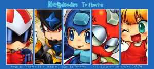 MegamanTribute Teaser by CamiFortuna