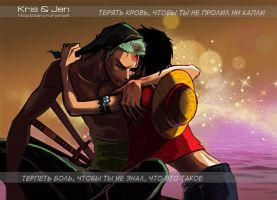 One Piece.Captain. by jen-and-kris