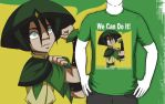 Toph - We Can Do It by SpazztasticFanGirl