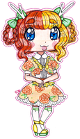 Evangeline [FORMAL OUTFIT] by sekaiichihappy