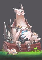 Mr.Owl by Bard-the-zombie