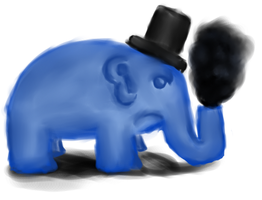 AG Elephant by Hectichermit