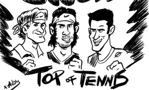 Top of tennis world by xAndyLG