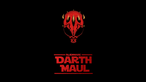Darth Maul Alienware Wallpaper by Zman110
