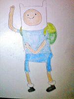 Finn from Adventure Time, for 04StartyOnlineBC88! by Angelgirl10