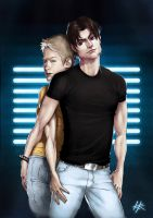 QAF - Justin and Brian by Melllorine