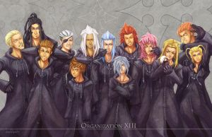 Organization XIII by neomonki