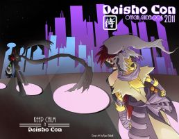 Daisho Con 2011 Guidebook cover by PixelMagus