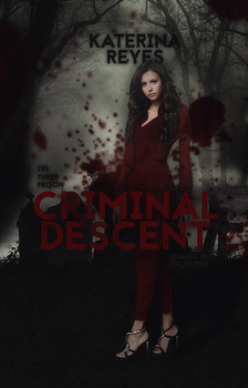 Book Cover 041 - Criminal Descent by sohappilyart