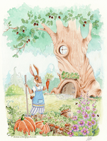 Rabbit's Garden by Ilona-S