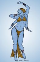 Twi'lek Dancer by rmartin2819