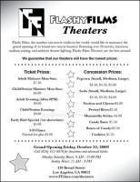 'Flashy Films' theater flyer by CmM359821