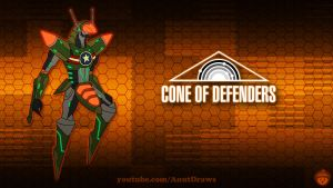 Cone of Defenders by AnutDraws