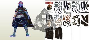 Fairy Tail Gildarts Clive Papercraft Preview by HellswordPapercraft