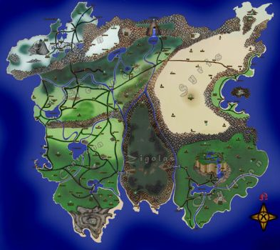 Xianthia Map: Completed by Xianthian