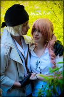 Snow and Serah- Believe in Me by twinfools