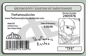 TheFamousEccles ID by TheFamousEccles
