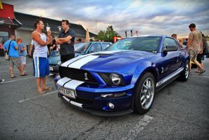 Blue Cobra GT500 by ShadowPhotography