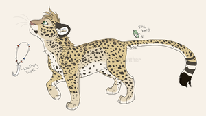 Leopard Design -2 of 4- by MBPanther