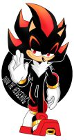 Shadow the Hedgehog by InspiredPixels
