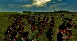 Russian Bayonet Charge 1 by infamousjames