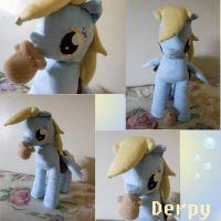 Mlp FiM: Derpy Hooves Plush v2 by Tawny0wl