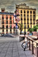 Colourful Barcelona01 by abelamario