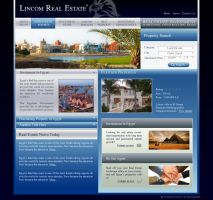 Lincom Realestate Website by ramywafaa