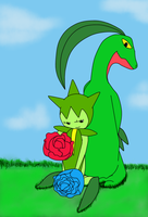 In A World Of- Pokemon (Grass Type) by MidnightPrime