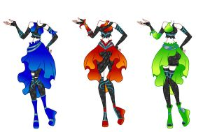 Random outfit designs -SOLD- by Winx-Bunny