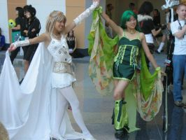 FF4 Rosa and Rydia Cosplay by Knightfourteen