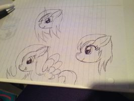 Drawn Pony Adopts (Offer to Adopt) by FinalSmashPony