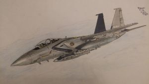 F-15K Slam Eagle by ArtistNumber3