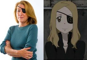 Marie Colvin and Marie Mjolnir by MechaTurles