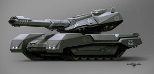 Leopard 3000 by hunterkiller