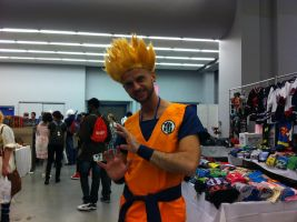 Goku - Otakuthon 2013 by J25TheArcKing