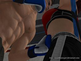 Abs Training - View 2 by MixedBoxingArt