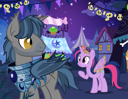 Nightmare Nights Request- M.A. Larson by PixelKitties