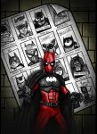 Batpool 5 Batmen of Future Past by HeroforPain