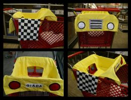 Cart Liner - Baby Taxi by coradee