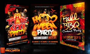 October Psd Flyer Templates by Industrykidz